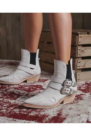 Superdry Women Cowboy Boots - DRY Limited Edition Dry Buckle Boot