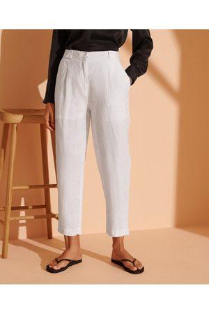 Superdry Women Trousers - - Cult Studios Women's Women's Limited Edition Hemp Trousers