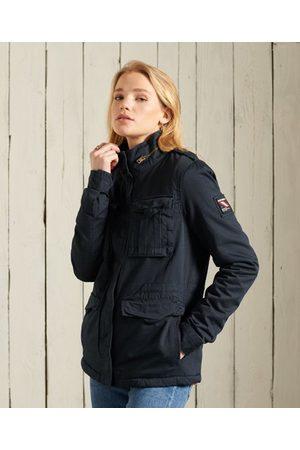 Superdry Women Jackets - Classic Rookie Borg Jacket