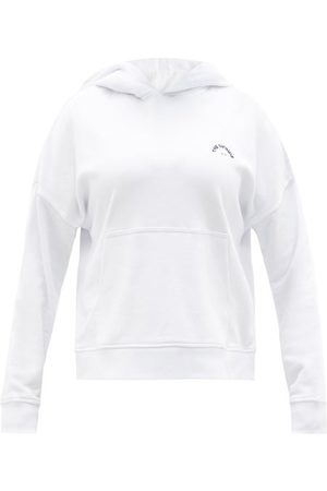 The Upside Logo-embroidered Organic-cotton Hooded Sweatshirt - Womens