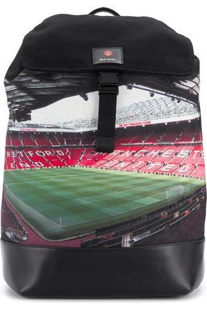 Paul Smith Men Rucksacks - X Manchester United Old Trafford-print backpack