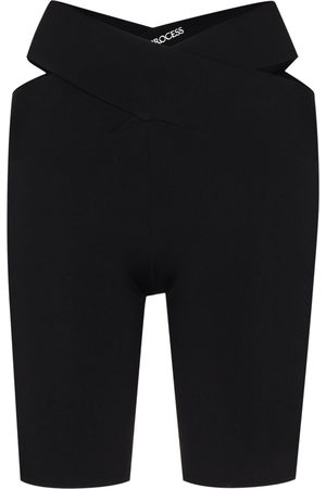 Live The Process Women Sports Shorts - Orion V-waist cycling shorts