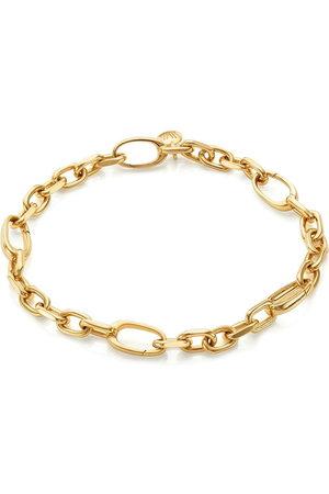 Monica Vinader 18kt vermeil Alta Capture Mini Link bracelet