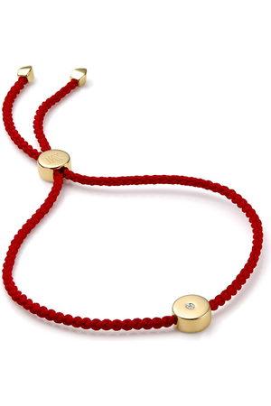 Monica Vinader 18kt vermeil Linear Solo Friendship bracelet