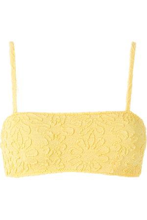 CLUBE BOSSA Zarbo jacquard bikini top