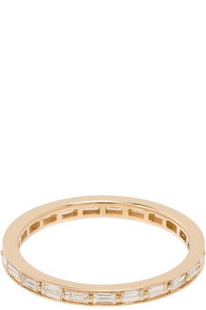 Dana Rebecca Designs 14kt yellow Sadie Pearl diamond eternity ring