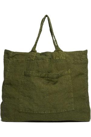 ONCE MILANO Women Handbags - Weekend linen tote bag