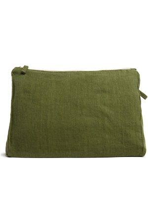 Once Milano Purses & Wallets - Zip-up linen pouch