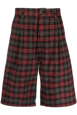 Goodfight Seven String plaid shorts