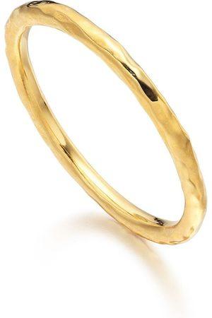 Monica Vinader Women Rings - Siren hammered ring