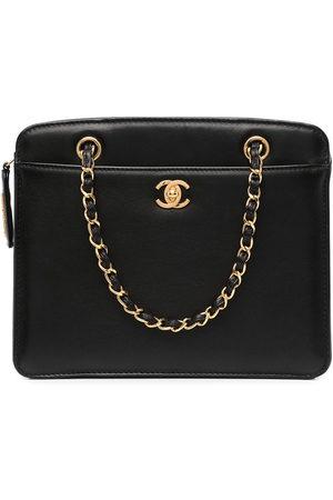 CHANEL Women Shopper & Tote Bags - 1990s CC turn-lock chain tote bag