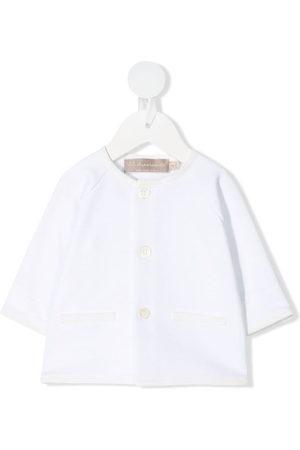 LA STUPENDERIA Cardigans - Contrasting trim cardigan