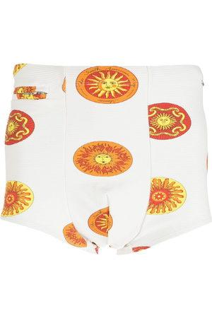 AMIR SLAMA Men Swim Shorts - Sol print swimming trunks