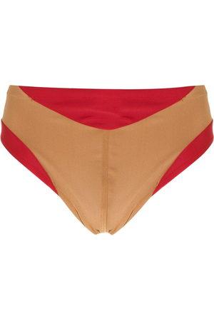 AMIR SLAMA Men Swim Shorts - Panelled two-tone swimming trunks