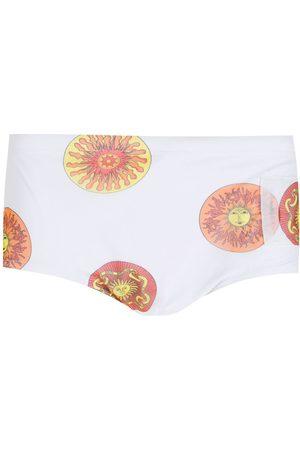 AMIR SLAMA Men Swim Shorts - Print Sol swimming trunks