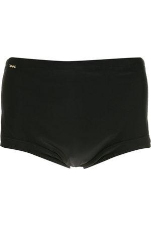 AMIR SLAMA Plain boxer swimming trunks