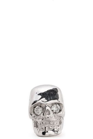 EMANUELE BICOCCHI Diamond eye skull single earring