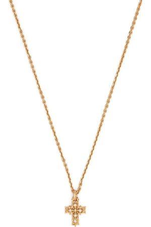 EMANUELE BICOCCHI Diamond cross pendant necklace