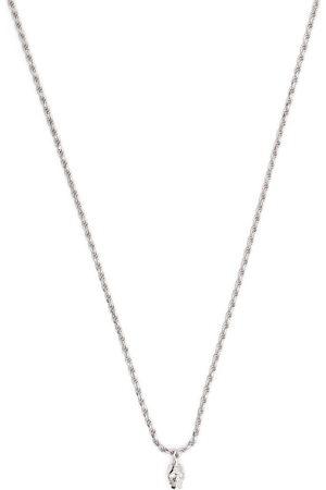 EMANUELE BICOCCHI Diamond eye skull pendant necklace