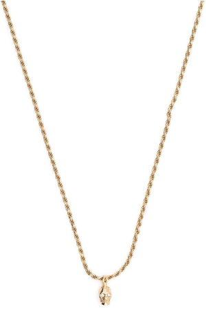 EMANUELE BICOCCHI Diamond eye pendant necklace