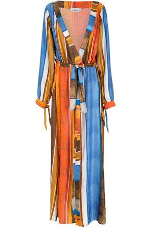 AMIR SLAMA Women Casual Dresses - Silk long shirt dress