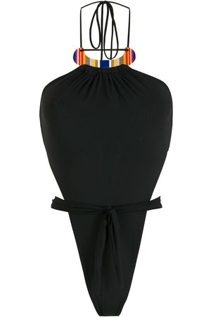 AMIR SLAMA Women Swimsuits - High-leg swimsuit