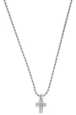 EMANUELE BICOCCHI Necklaces - Diamond cross pendant necklace