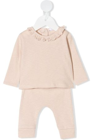 KNOT Nelly knitted tracksuit set - Neutrals