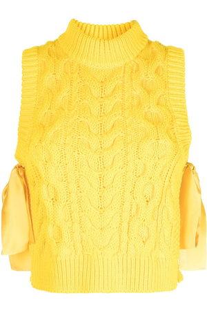 Cecilie Bahnsen Francine cable knit vest