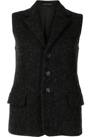 YOHJI YAMAMOTO Women Blazers - Single-breasted waistcoat