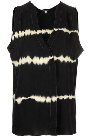 Giorgio Armani 2000s tie-dye print sleeveless top