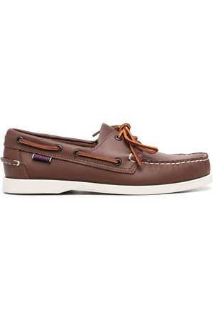 SEBAGO Lace-up leather loafers