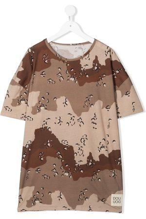 DOUUOD KIDS Short Sleeve - Camouflage-print T-shirt