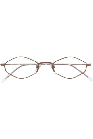 SNOB Sunglasses - Geometric-frame clear-lens glasses