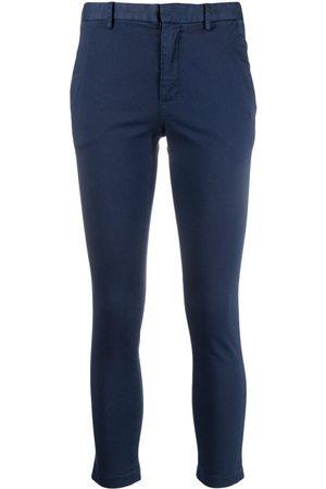 ..,MERCI Women Skinny Trousers - Cropped slim-fit trousers
