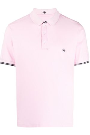 FAY Men Polo Shirts - Logo-embroidered polo shirt