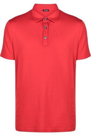 Kiton Men Polo Shirts - Lightweight cotton-blend polo shirt