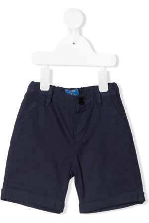 FAY KIDS Logo-embroidered bermuda shorts