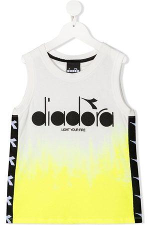 Diadora Logo-print tank top