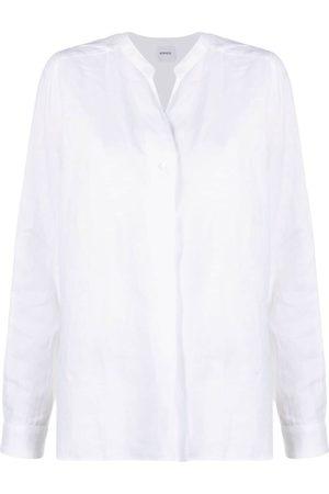 Aspesi Button-up linen shirt