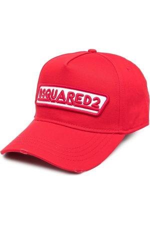 Dsquared2 Men Hats - Embroidered-design six-panel cap