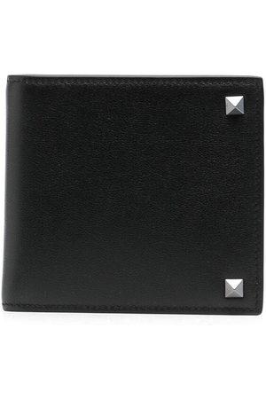 VALENTINO GARAVANI Men Purses & Wallets - Rockstud leather wallet