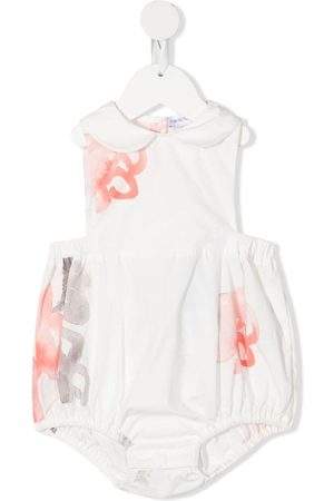 Emporio Armani Rompers - Painterly floral-print body