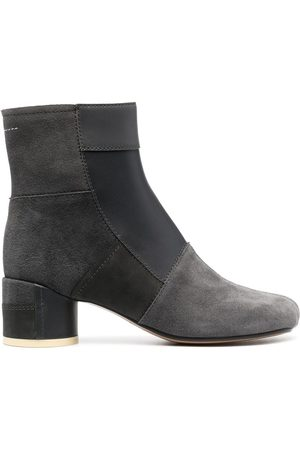 MM6 MAISON MARGIELA Women Ankle Boots - 60mm panelled ankle boots