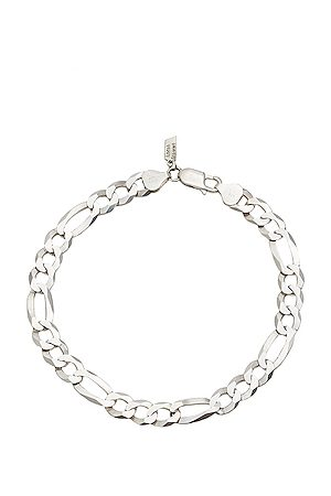 Loren Stewart XL Fig Anklet in Sterling