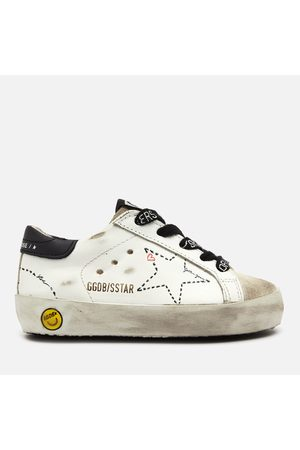Golden Goose Deluxe Brand Toddlers' Super Star Family Leather Trainers