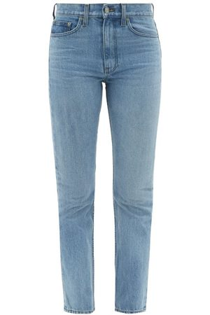 Brock Collection Wright High-rise Straight-leg Jeans - Womens - Dark