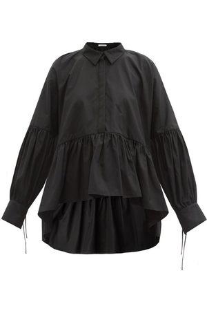 Cecilie Bahnsen Andrea Balloon-sleeve Organic-cotton Top - Womens