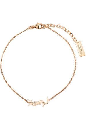 Saint Laurent Women Bracelets - Logo chain bracelet