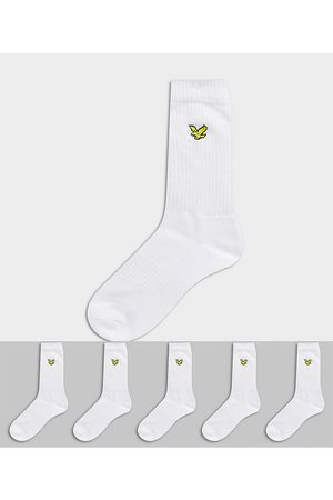Lyle & Scott 5 pack sport socks in